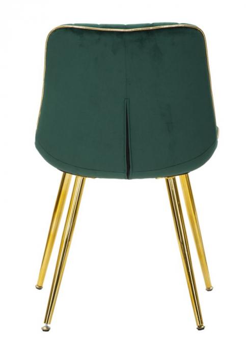 Set 2 fotolii PARIS verde/auriu (cm) 51X59X79 1