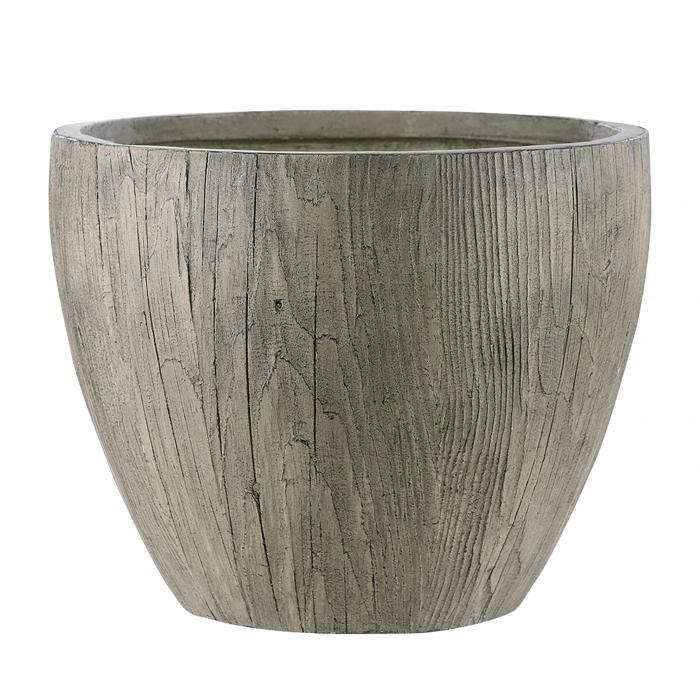 Set 2 ghivece Timber, maro, 55x44x55 cm 0