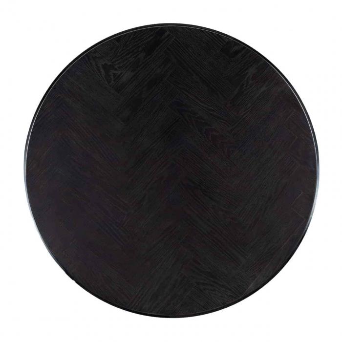 Set 2 masute Blackbone, Lemn/Metal, Argintiu, 42/36x91.5/75x91.5/75 cm [1]