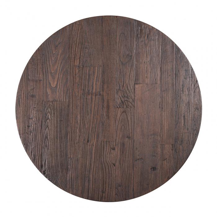 Set 2 masute Cromford, Lemn/Metal, Bronz/Maro, 40/35x90/70x90/70 cm [2]