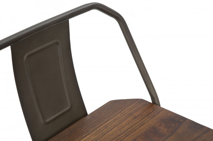 Set 2 scaune de bar HARLEM -B- (cm) 41X41X95  6