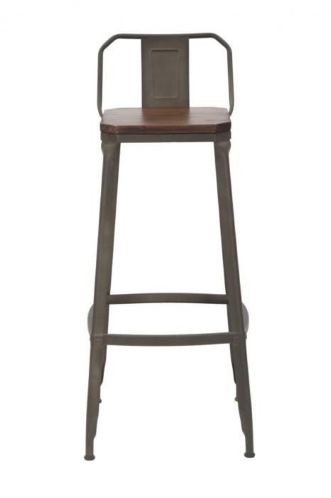 Set 2 scaune de bar HARLEM -B- (cm) 41X41X95  1