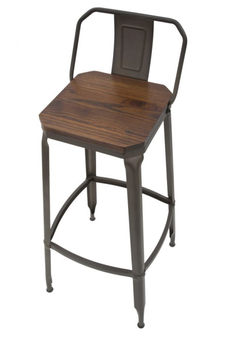 Set 2 scaune de bar HARLEM -B- (cm) 41X41X95  3