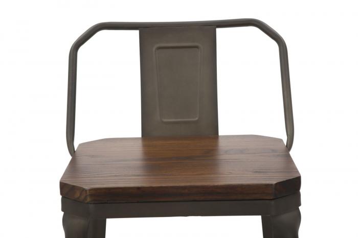 Set 2 scaune de bar HARLEM -B- (cm) 41X41X95  4