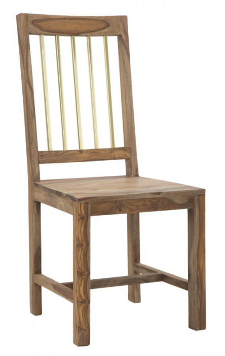 Set 2 scaune ELEGANT, lemn masiv sheesham, 45X50X100 cm, Mauro Ferretti 0
