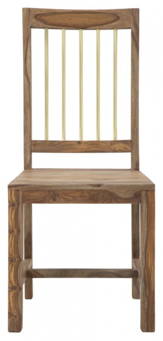 Set 2 scaune ELEGANT, lemn masiv sheesham, 45X50X100 cm, Mauro Ferretti 1