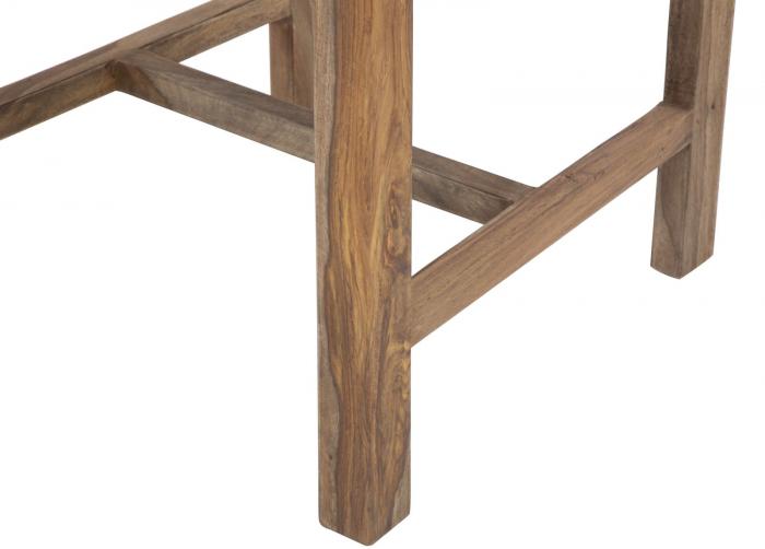 Set 2 scaune ELEGANT, lemn masiv sheesham, 45X50X100 cm, Mauro Ferretti 6