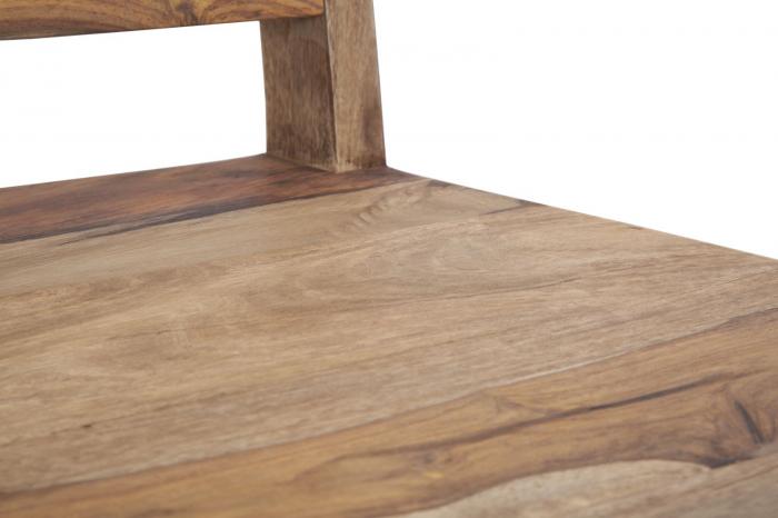 Set 2 scaune ELEGANT, lemn masiv sheesham, 45X50X100 cm, Mauro Ferretti 7