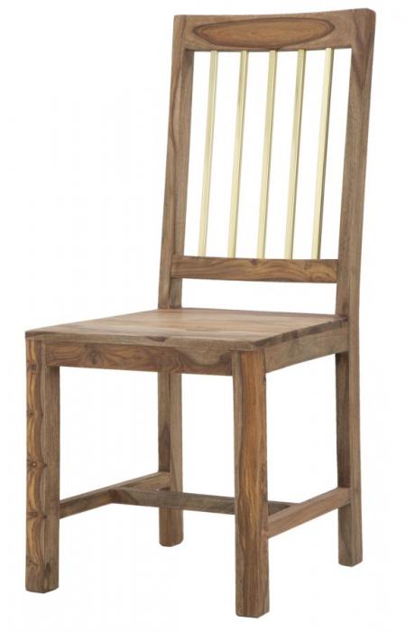 Set 2 scaune ELEGANT, lemn masiv sheesham, 45X50X100 cm, Mauro Ferretti 2