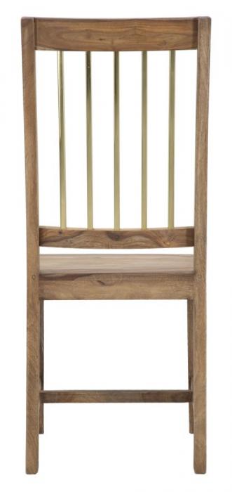 Set 2 scaune ELEGANT, lemn masiv sheesham, 45X50X100 cm, Mauro Ferretti 8