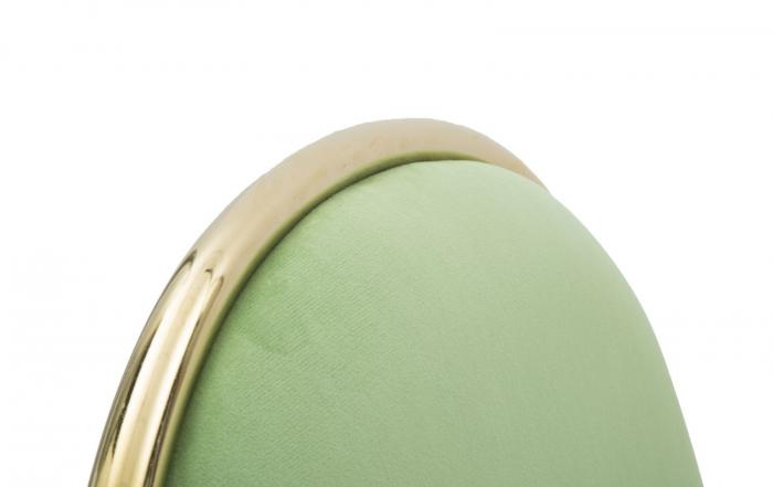 Set 2 scaune GLAM EMILY GREEN  (cm) 44X50X90  8