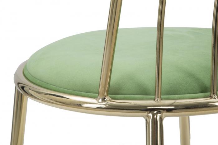 Set 2 scaune GLAM LODOVIC GREEN (cm) 45X50X80  8