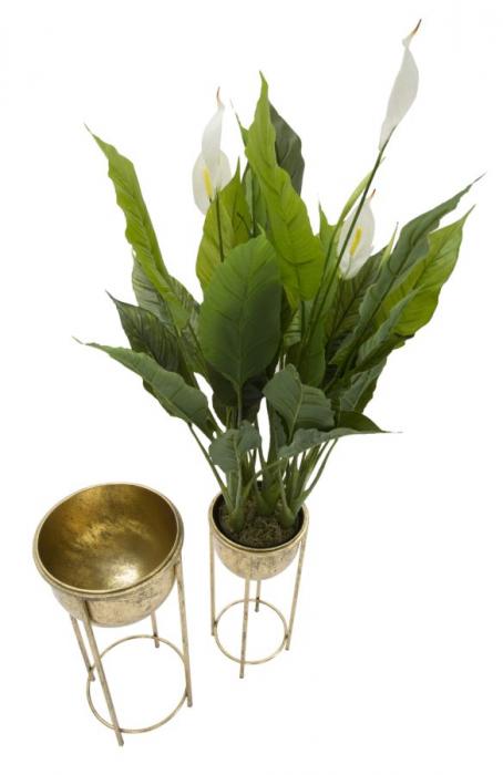 Set 2 suporturi de flori COPPIA (cm) Ø 27X62-21,5X52 2