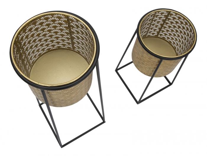 Set 2 suporturi pentru flori COUPLE (cm) Ø 26X70-23X45 4