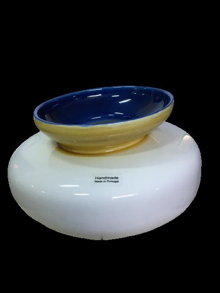 Set 3 vaze HERITAGE, ceramica, alb, 41/34/7.5 cm 3