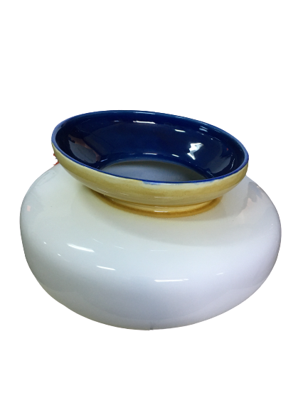 Set 3 vaze HERITAGE, ceramica, alb, 41/34/7.5 cm 4