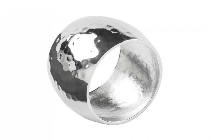 Set 4 inele servete de masa MATA, placate cu argint, 4.5 cm 1
