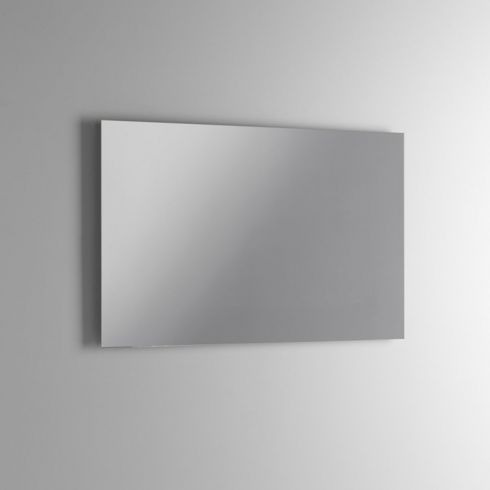 Set de baie cu 4 piese AGO, Melamina/Aluminiu/Abs/Sticla/Ceramica/Metal, Alb,  101x46.5x190 cm 5