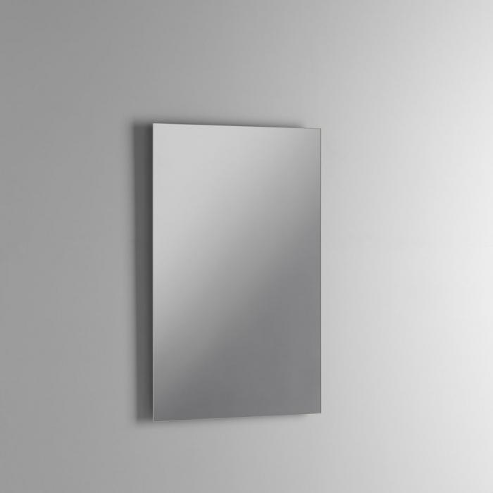 Set de baie cu 4 piese AGO, Melamina/Aluminiu/Abs/Sticla/Ceramica/Metal, Gri, 71x46.5x190 cm 5