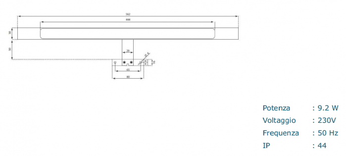 Set de baie cu 4 piese AGO , Melamina/Aluminiu/Abs/Sticla/Ceramica/Metal, Crem,  121x46.5x190 cm 7