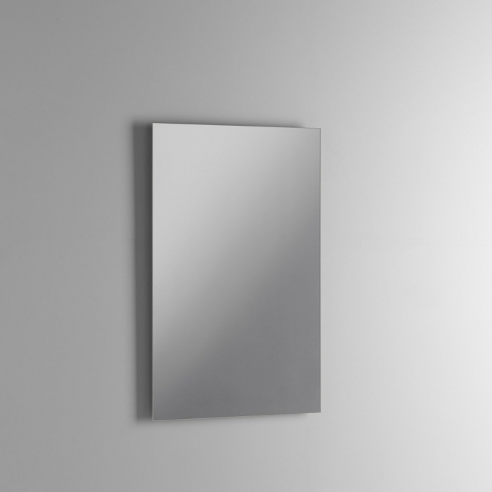 Set de baie cu 4 piese MALMO, Melamina/Aluminiu/Abs/Sticla/Ceramica/Metal, Alb, 81x46.5x190 cm [2]