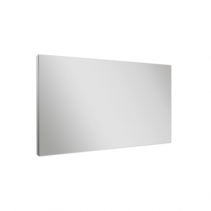 Set de baie cu 4 piese  PERTH, Melamina/Aluminiu/Abs/Sticla/Ceramica/Metal, Alb, 71x46.5x190 cm [2]
