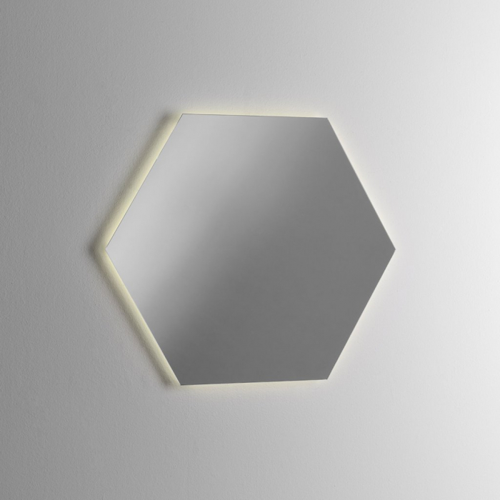 Set de baie cu 4 piese YOKA , Melamina/Aluminiu/Abs/Sticla/Ceramica/Metal, Gri,  120x45x190 cm 5
