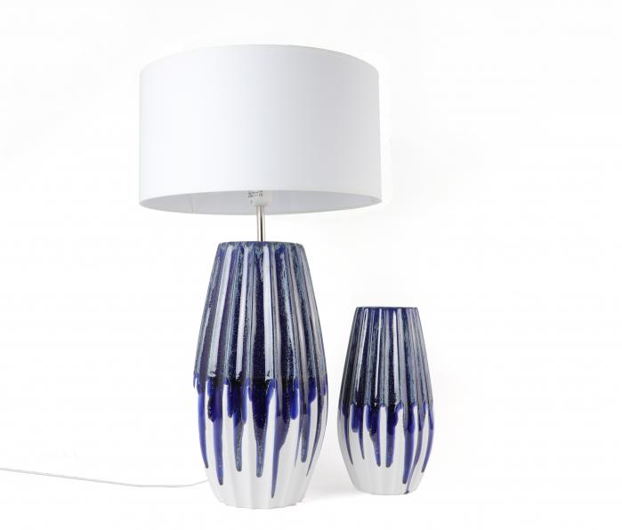 Set 1 Lampa cu Vaza MOONEYE, ceramica, 40/30 cm 0
