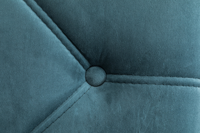 Sezlong living Diana, Albastru verzui, 165x88x70 cm 6