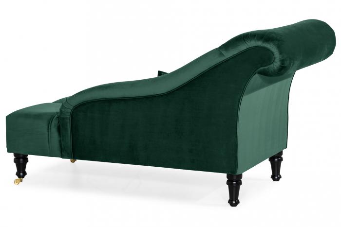 Sezlong living Diana, Verde inchis, 165x88x70 cm 3