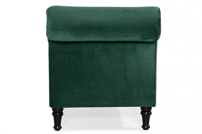 Sezlong living Diana, Verde inchis, 165x88x70 cm 2