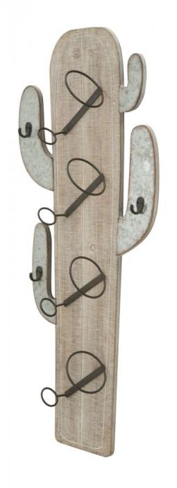 Suport de perete pentru sticle de vin CACTUS, 46X12X96 cm, Mauro Ferretti 2