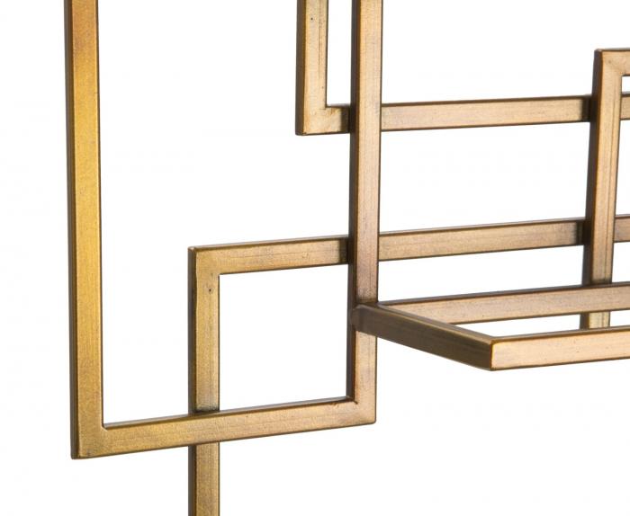 Suport de perete pentru sticle GLAM VERTICAL (cm)  50X10X79.5 1
