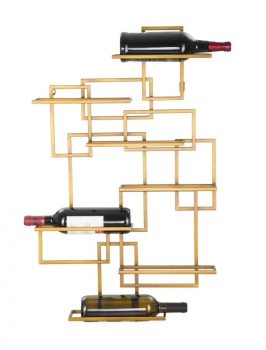Suport de perete pentru sticle GLAM VERTICAL (cm)  50X10X79.5 4