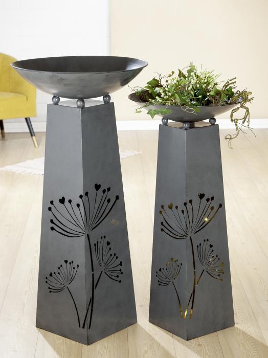 Suport flori BLOSSOM, metal, 102x50 cm 1
