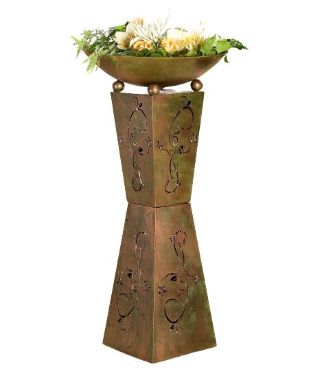 Set 2 suporturi flori Diabolo, metal, 101/98x50 cm 1