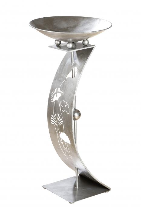 Suport flori GINKGO, metal, 110x50 cm 2