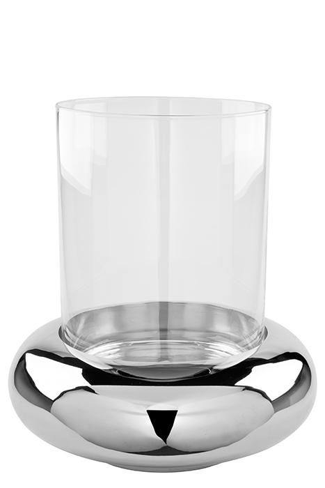 Suport lumanare DELPHI, metal/sticla, 34.8 cm, Fink [1]