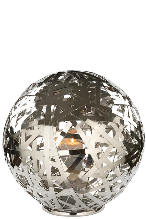 Suport lumanare MOLA, aluminiu/nichel/inox, 50 cm, Fink 0