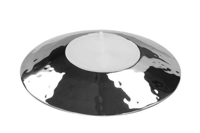 Suport lumanare VIO, otel inoxidabil, 9x3 cm, Fink [0]