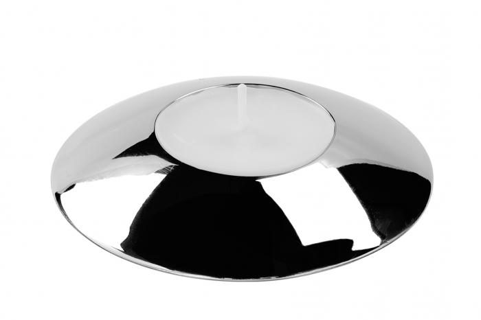 Suport lumanare VIO, otel inoxidabil, 9x3 cm,  Fink 1