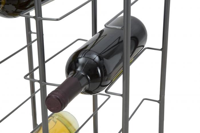 Suport pentru 10 sticle, 28X23X67 cm, Mauro Ferretti 8