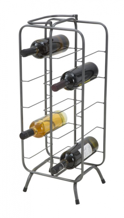Suport pentru 10 sticle, 28X23X67 cm, Mauro Ferretti 6