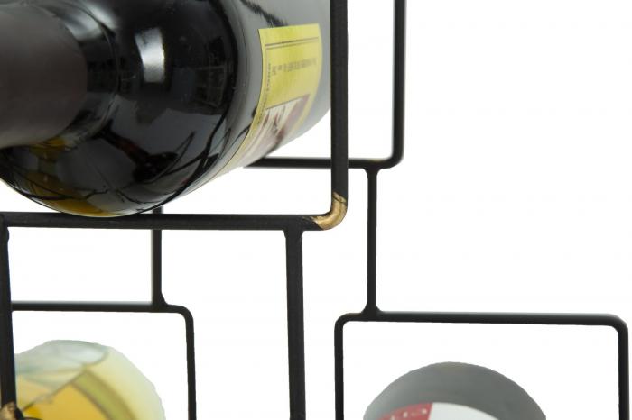 Suport pentru 5 sticle, 0X15X26.5 cm, Mauro Ferretti 5