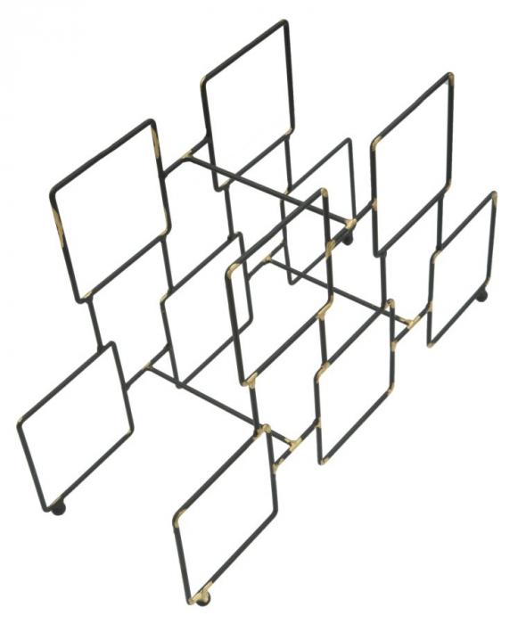 Suport pentru 5 sticle, 0X15X26.5 cm, Mauro Ferretti 4