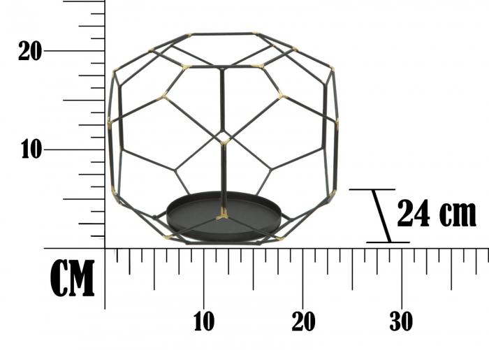 Suport pentru lumanare BRIGHT BALL (cm) Ø 24X20  7