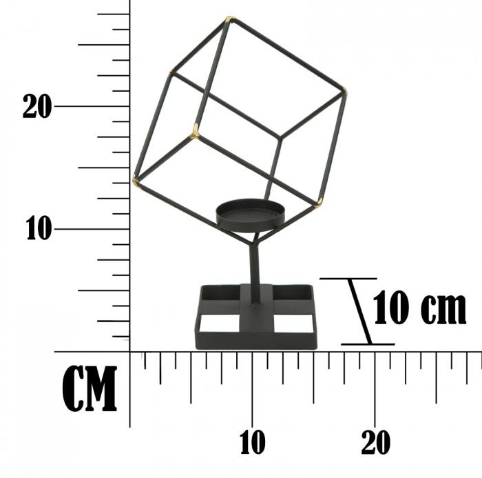 Suport pentru lumanare BRIGHT SQUARE (cm) 17X10X27  7