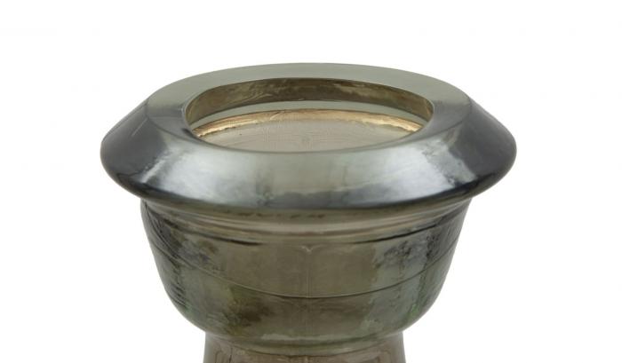 Suport pentru lumanare BROWN, sticla reciclata,  Ø (cm) 22X75  4