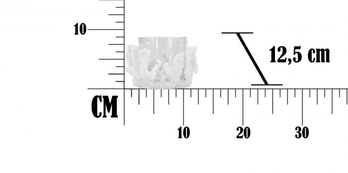 Suport pentru lumanare CORALLO (cm) Ø 12,5X9  7