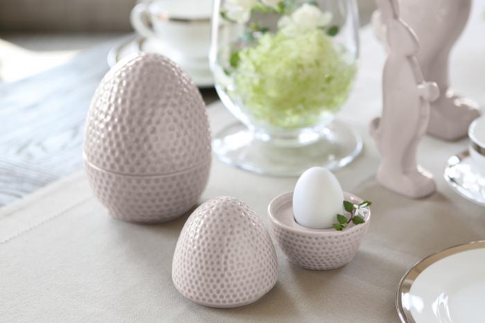 Suport pentru oua Pasko, Ceramica, Bej, 21x12.5x20 cm lotusland.ro